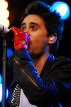 jared leto ( 30 SECONDS TO MARS )