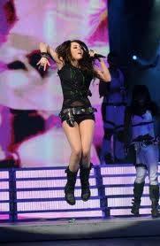 Miley en superconcierto