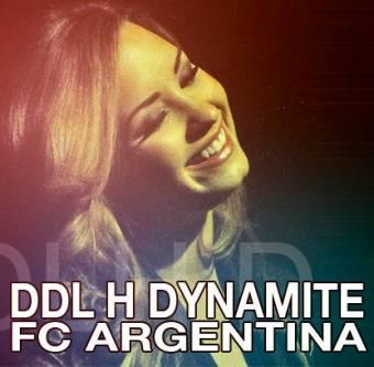 Demi Lovato DDLH DYNAMITE Argentina Oficial