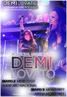 Demi Lovato Mexico