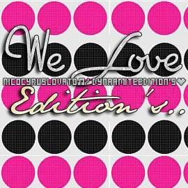 We Love Editions ツ