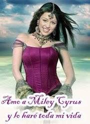 Amo a Miley Cyrus y lo har� toda mi vida