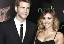 miley y liam hemsworth