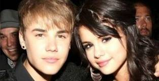 Justin Bieber y Selena G�mez (ex-pareja)