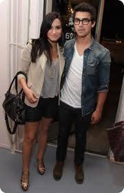 Demi Lovato y Joe Jonas (ex-pareja)