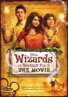 los hechizeros de waberly place la película
