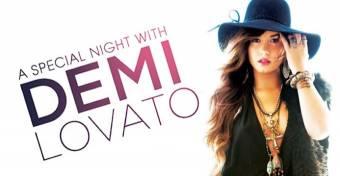 Demi Lovato A Night Special Whit Demi Lovato
