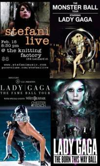 Lady Gaga Born This Way Ball Tour 2012