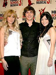 Ashley,Vanessa y Zac