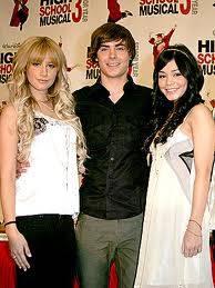 Ashley,Vanessa y Zac