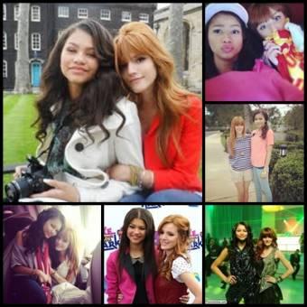 Zendaya Coleman y Bella Thorne.