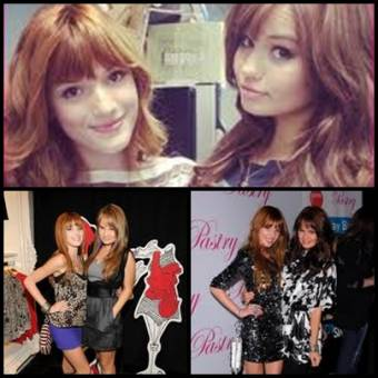 Bella Thorne y Debby Ryan.