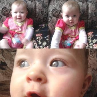 Maria camila garcia arroyave bebe simpatica y hermosa