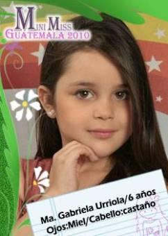 GUATEMALA SUR - MAR�A GABRIELA URRIOLA
