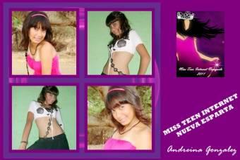 MISS TEEN INTERNET NUEVA ESPARTA-ANDREINA GONZALEZ