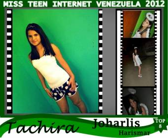 Miss Teen Internet Tachira-Joharlis