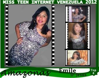 Miss Teen Internet Amazonas-Emile D