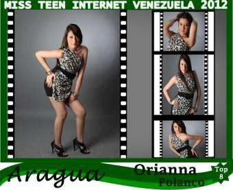 Miss Teen Internet Aragua-Orianna Polanco