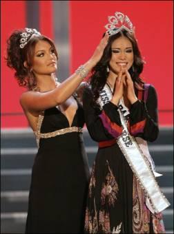 Riyo Mori Miss Universo 2007