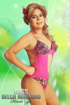 Miss Gay Delta Amacuro