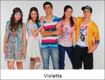 Violetta (perdon pero eres un asco)