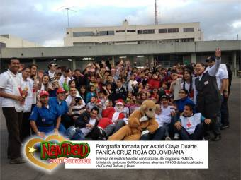 Panica Cruz Roja Colombiana 2