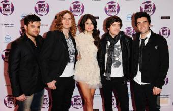 Selena Gomez and Scene