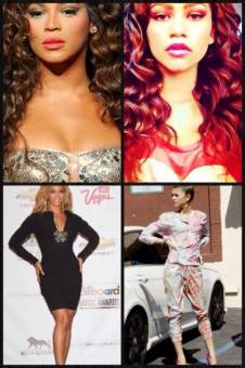 1. Sus fans la comparan con Beyoncé, porque Zendaya es fan de Beyoncé