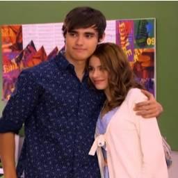 Martina y su novio