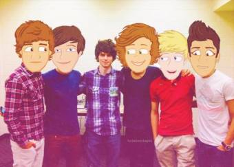 One Direction (Sexys Europeos Anormales)