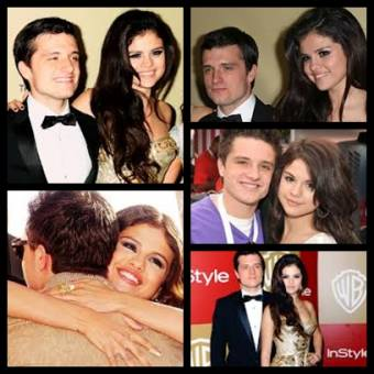 Josh y Selena juntos en varias ocasiones. �Os gsta la pareja?