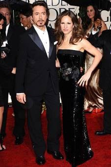 Susan, esposa de Robert Downey Jr.(el que est� al lado)