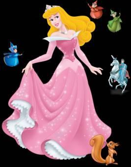 se parece a una princesa.