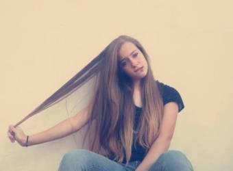 por su pelo hermoso