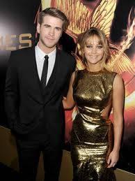 Liam Hemsworth y Jennifer Lawrence. (Se que Liam se va a casar con Miley pronto pero, ¿no hacen Jennifer y él una bonita pareja?)