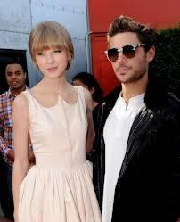 Taylor Swift y Zac Efron. (Los dos son actorres cantantes y con una edad similar: Zac 25 y Taylor 23)