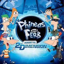 phineas y ferb atraves de la 2 dimension