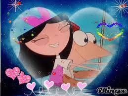Phineas e Isabella bien juntos