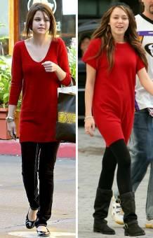 A Selena le dicen anorexica y a Miley gorda, Selena y Miley están en su peso ideal, ni muy delgadas ni muy obesas.