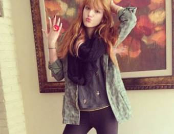 Por la mayor fan de Bella Thorne