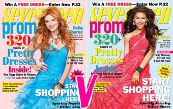 Por salir tan lindas en las revistas