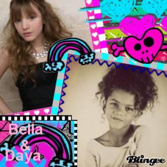 Que si Bella era más fea de pequeña, no que era màs fea Zendaya, ¿que importa antes? lo que importa es el presente, el ahora, como son ahora