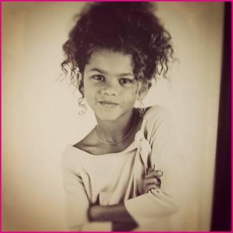 Por ser tan bella desde pequeña