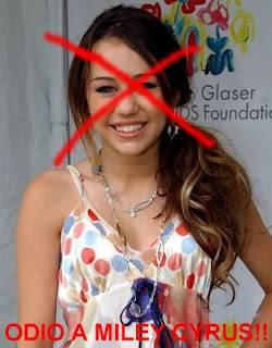 Por que odio a Miley Cyrus