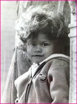 Zendaya de pequeña ya era fea