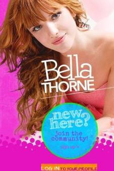 Bella Thorne tiene un blog