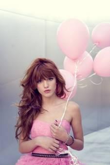 por ser linda con globos b
