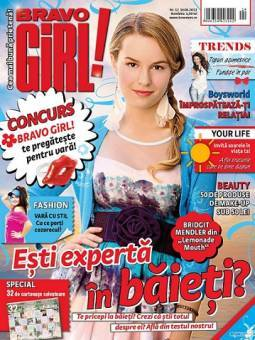 bridgit sale hermosa en revista