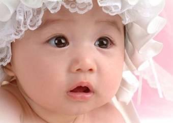Por ser linda de bebe