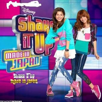 por salir en shake it up made in japan
